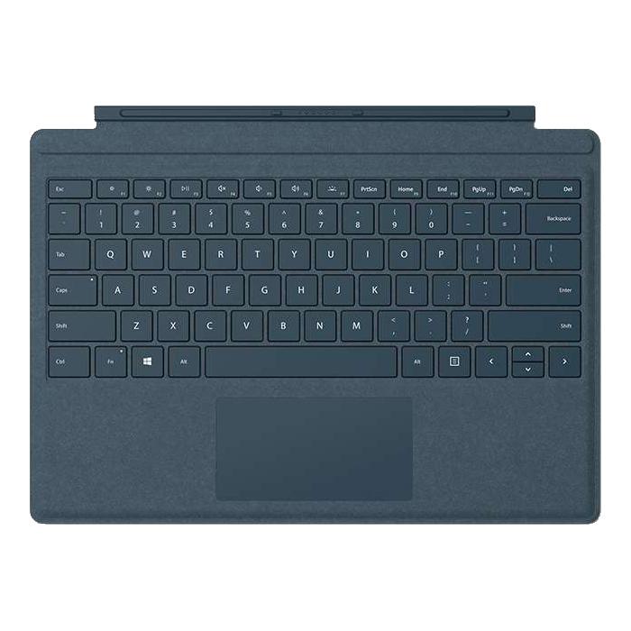 マイクロソフト Surface Pro Signature タイプ カバー [コバルトブルー] ・ガラス製トラックパッド ・LEDバックライト ・高耐久性 FFP-00039