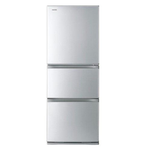 東芝 VEGETA 3ドア冷蔵庫 (330L・右開き) シルバー GR-R33S-S【納期目安:3週間】