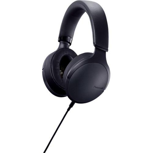 パナソニック ステレオヘッドホン ハイレゾ音源対応 ブラック RP-HD300-K【納期目安:約10営業日】