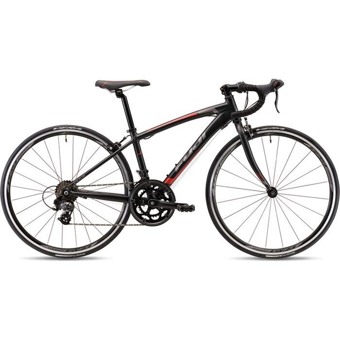 FUJI 2019年モデル エース(ACE 650) 650C 2x7段変速 MATTE BLACK 子供用自転車 19AC65BK35【納期目安:追って連絡】