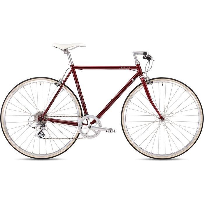 FUJI 2019年モデル バラッド(BALLAD ) 49cm 8段変速 BORDEAUX クロスバイク 19BALDBD49【納期目安:追って連絡】