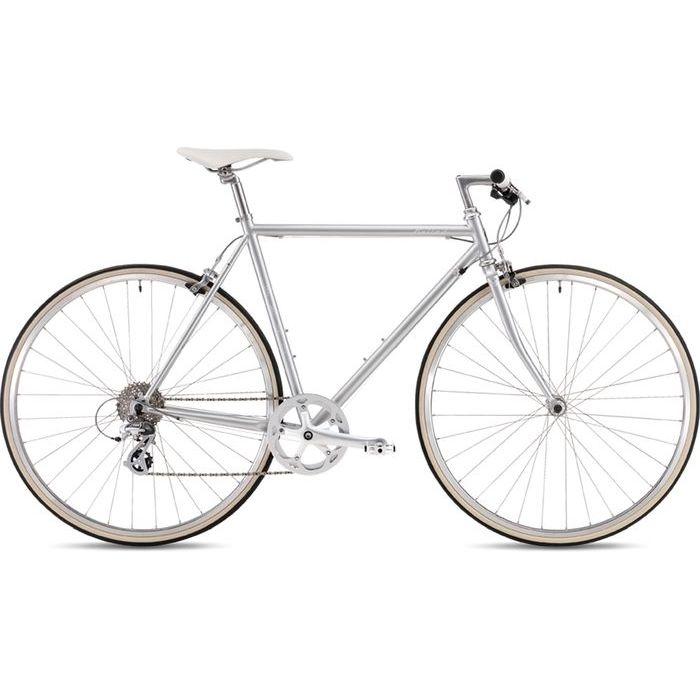 FUJI 2019年モデル バラッド(BALLAD ) 54cm 8段変速 SILVER クロスバイク 19BALDSV54