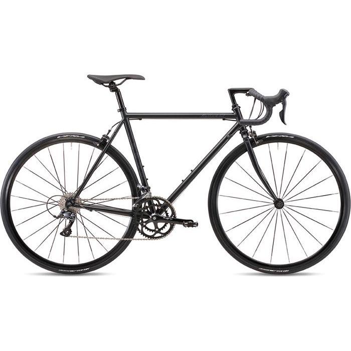 FUJI 2019年モデル バラッド オメガ(BALLAD OMEGA) 43cm 2x9段変速 MATTE BLACK ロードバイク 19BLDOBK43