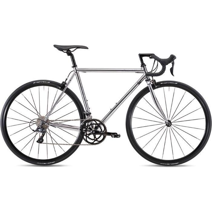 FUJI 2019年モデル バラッド オメガ(BALLAD OMEGA) 58cm 2x9段変速 CHROME ロードバイク 19BLDOSV58