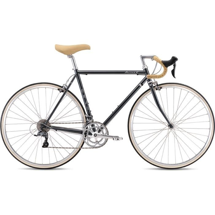 FUJI 2019年モデル バラッド アール(BALLAD R) 52cm 2x8段変速 DARK SILVER ロードバイク 19BLDRSV52【納期目安:追って連絡】