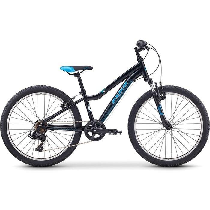 FUJI 2019年モデル ダイナマイト(DYNAMITE 24) 24インチ 7段変速 BLACK/BLUE 子供用自転車 19DY24BK24【納期目安:追って連絡】