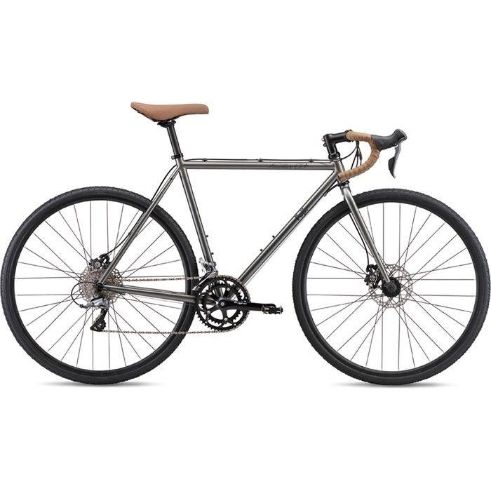 FUJI 2019年モデル フェザー シーエックス プラス(FEATHER CX+) 52cm 2x8段変速 SLATE ディスクブレーキ ロードバイク 19FEACGY52
