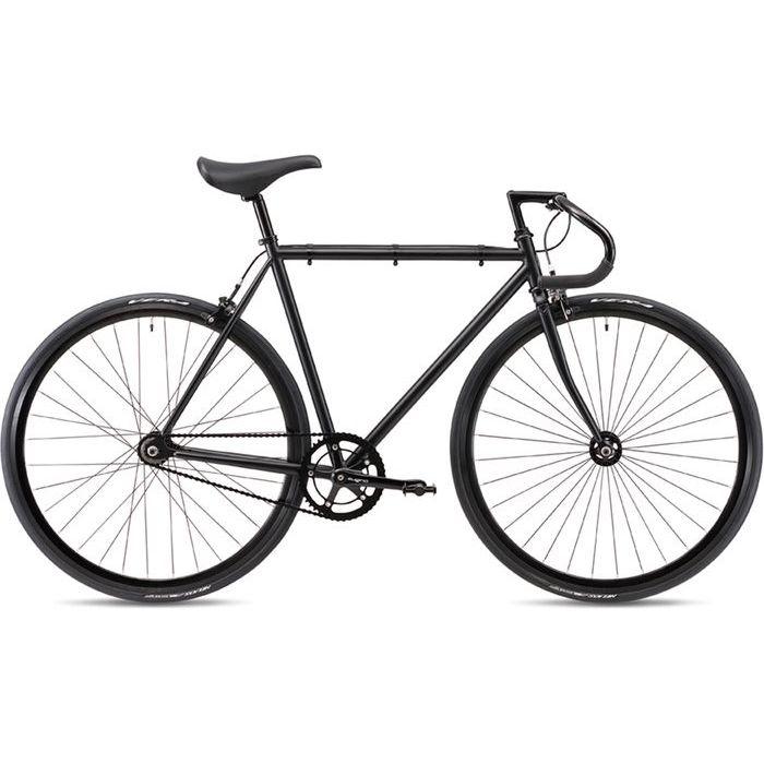 FUJI 2019年モデル フェザー(FEATHER ) 43cm シングルスピード MATTE BLACK ピストバイク 19FETRBK43