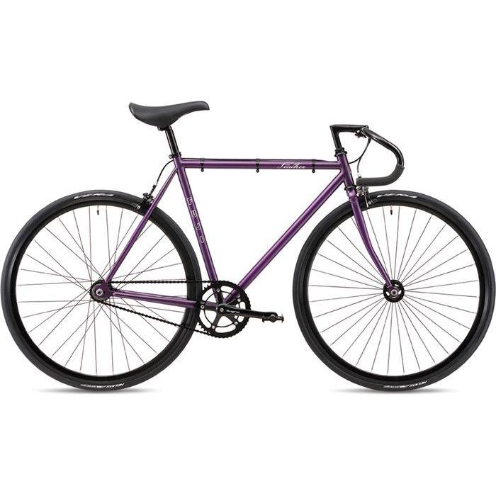 FUJI 2019年モデル フェザー(FEATHER ) 43cm シングルスピード MATTE PURPLE ピストバイク 19FETRPR43