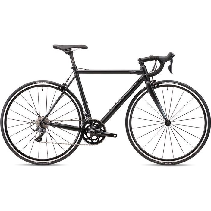 FUJI 2019年モデル ナオミ(NAOMI ) 42cm 2x9段変速 MATTE BLACK ロードバイク 19NAOMBK42【納期目安:追って連絡】