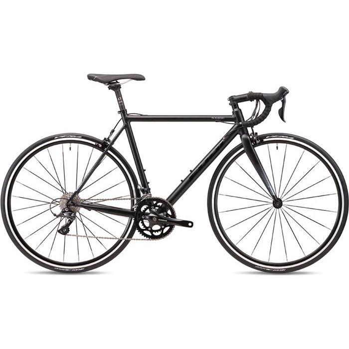 FUJI 2019年モデル ナオミ(NAOMI ) 46cm 2x9段変速 MATTE BLACK ロードバイク 19NAOMBK46【納期目安:追って連絡】