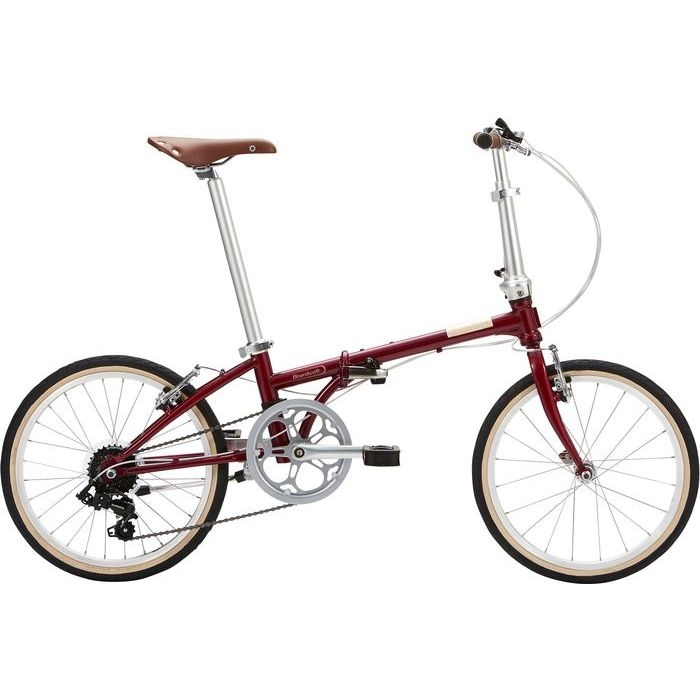 DAHON(ダホン) 2019年モデル ボードウォーク(Boardwalk D7 ) 7段変速 ボルドー 折りたたみ自転車 19BDWKBO00
