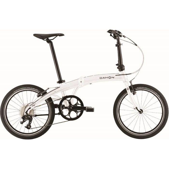 DAHON(ダホン) 2019年モデル ミュー D9(Mu D9) 9段変速 アイスホワイト 折りたたみ自転車 19MUD9WH00【納期目安:追って連絡】