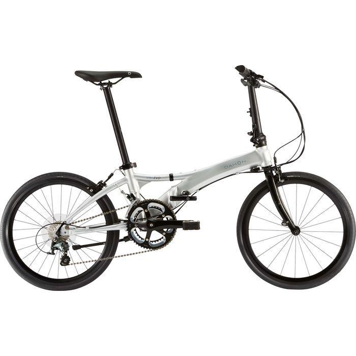 DAHON(ダホン) 2019年モデル ヴィスク エヴォ(Visc EVO) 2x10段変速 ブライトシルバー 折りたたみ自転車 19VISCSL00