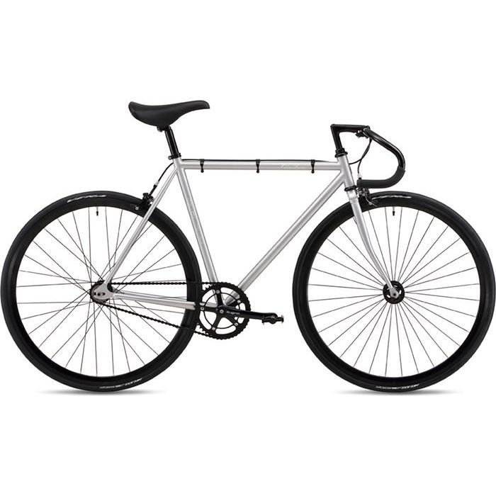 FUJI 2019年モデル フェザー(FEATHER ) 52cm シングルスピード MATTE SILVER ピストバイク 19FETRSV52【納期目安:追って連絡】