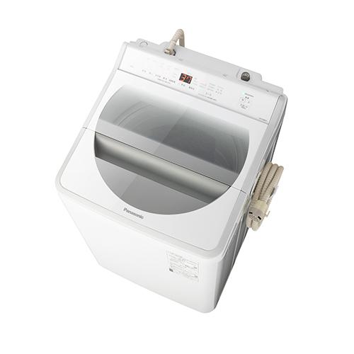 パナソニック 8.0kg全自動洗濯機ホワイト NA-FA80H7-W