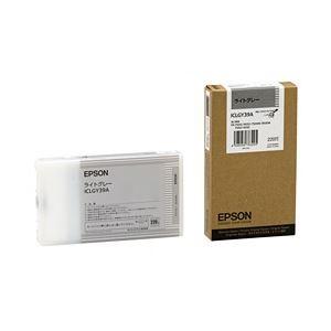 その他 【純正品】 エプソン(EPSON) インクカートリッジ ライトグレー 型番:ICLGY39A 単位:1個 ds-1096965