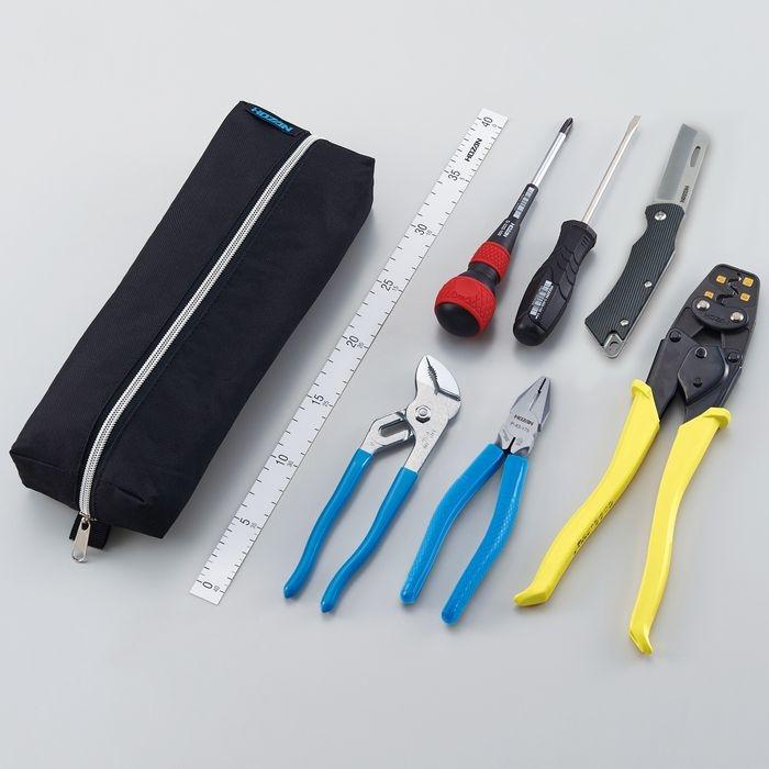 ホーザン 電気工事士技能試験 工具セット DK-29