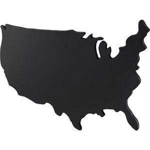 その他 USA型 ブラックボード/黒板 【Lサイズ】 幅120cm 繊維板製 〔店舗 飲食店 オフィス リビング ダイニング〕 ds-2173063