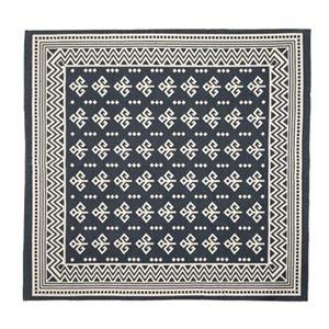 その他 モダン ラグマット/絨毯 【180×180cm TTR-162B】 正方形 綿 インド製 〔リビング ダイニング フロア 居間〕 ds-2173396