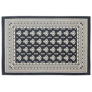 その他 モダン ラグマット/絨毯 【170×230cm TTR-163B】 長方形 綿 インド製 〔リビング ダイニング フロア 居間〕 ds-2173399