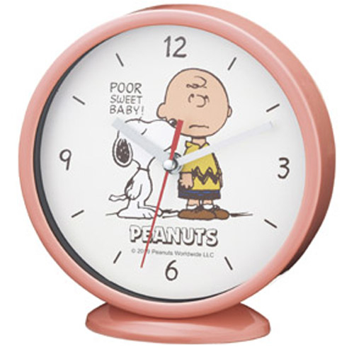 その他 【60個セット】スヌーピー インテリア時計(置き掛け兼用) MRTS-33407