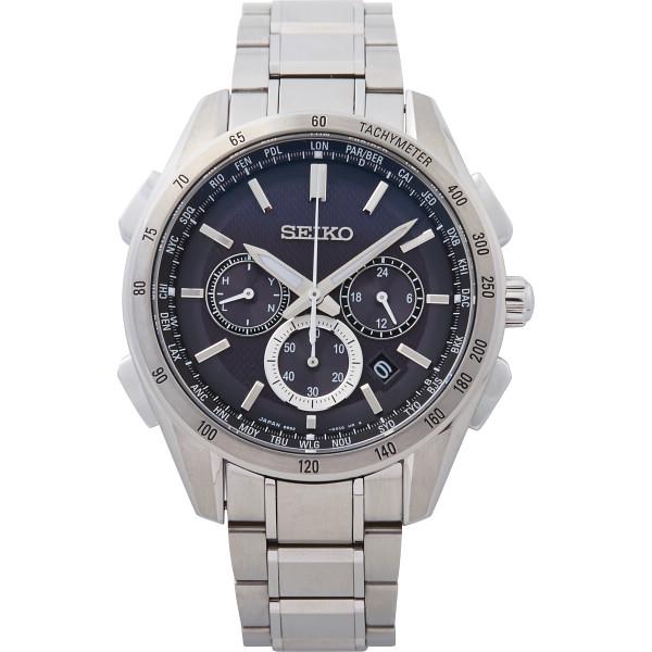 その他 セイコー ブライツ ワールドタイム ソーラー電波メンズ腕時計(包装・のし可) 4954628434654【納期目安:1週間】