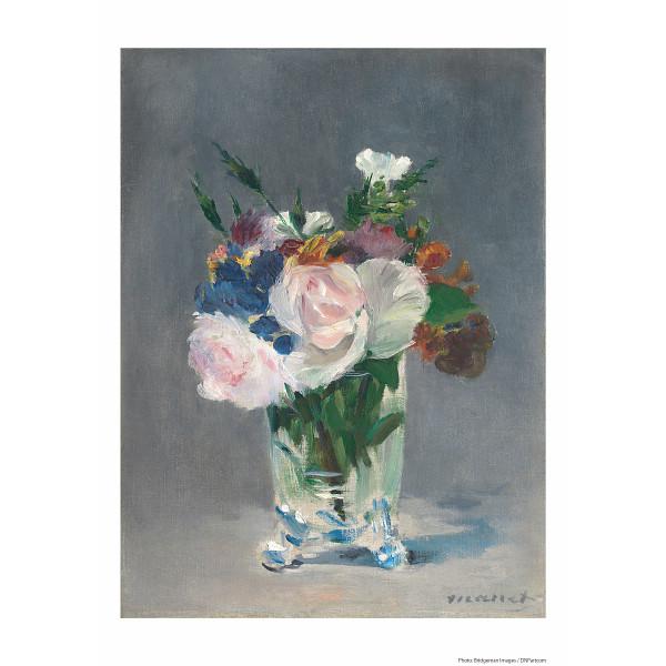 その他 マネ「ガラス花瓶の中の花」(包装・のし可) 2400046001142【納期目安:1週間】