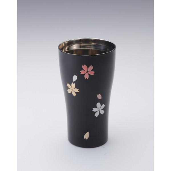 その他 きらり ステンレスタンブラー 桜 黒 (包装・のし可) 4941017290014
