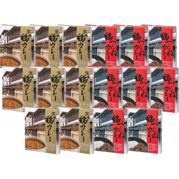 その他 京都八起庵 鶏カレー&つくねカレーセット(16食) 2478170003608【納期目安:1週間】