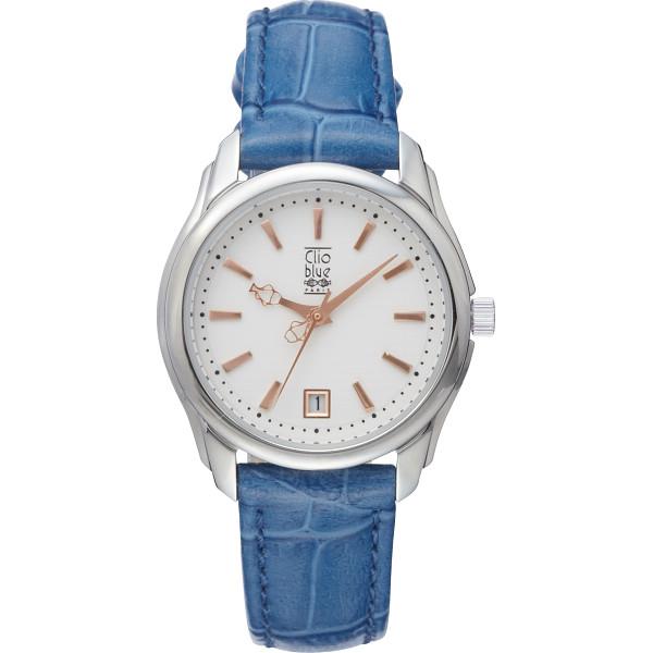 その他 クリオブルー レディース腕時計 ブルー (包装・のし可) 4582164652180【納期目安:1週間】
