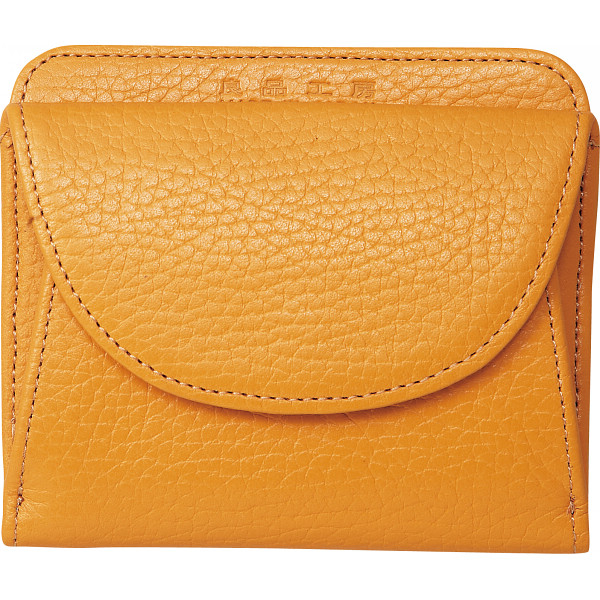 その他 良品工房 日本製牛革二つ折財布 キャメル (包装・のし可) 4560286932014【納期目安:1週間】