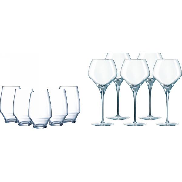その他 シェフ&ソムリエ オープンナップ グラス10ピースセット(包装・のし可) 4560298705231【納期目安:1週間】