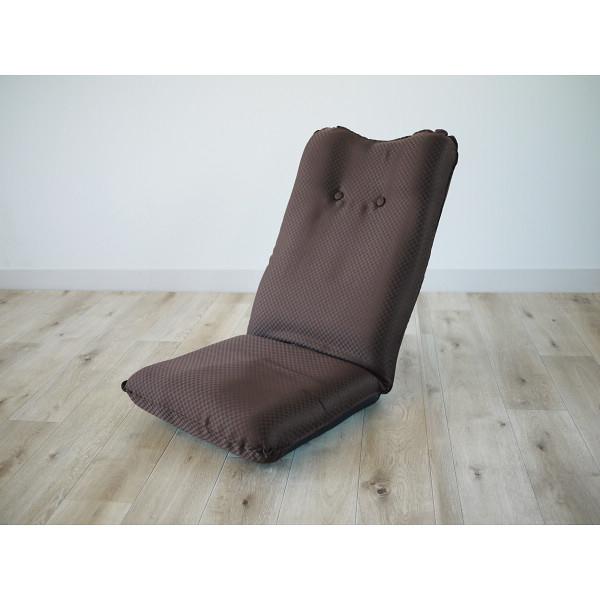 その他 ズレ落ち防止加工折りたたみ座椅子 ブラウン (包装・のし可) 4511412989280【納期目安:1週間】