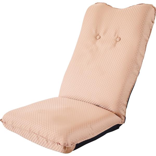 その他 ズレ落ち防止加工折りたたみ座椅子 ベージュ (包装・のし可) 4511412989297【納期目安:1週間】