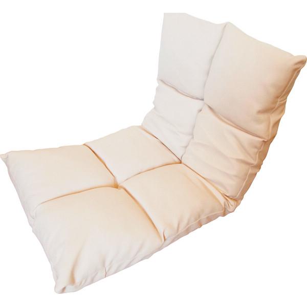 その他 高反発フリーリクライニング座椅子 アイボリー (包装・のし可) 4582296755841【納期目安:1週間】