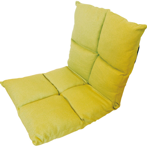 その他 高反発フリーリクライニング座椅子 グリーン (包装・のし可) 4582296755865