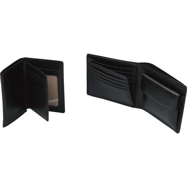 その他 良品工房 日本製牛革財布&名刺入れセット(包装・のし可) 4560286936494【納期目安:1週間】