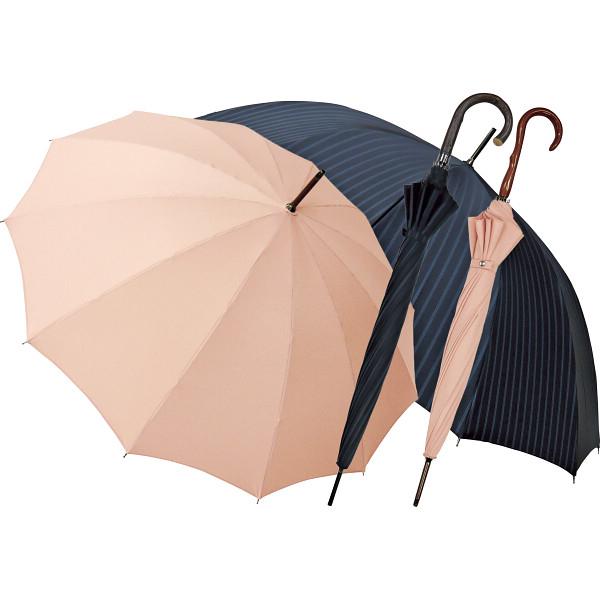 その他 職人の手作り 紳士・婦人晴雨兼用長傘セット ボタン (包装・のし可) 4580117929150【納期目安:1週間】