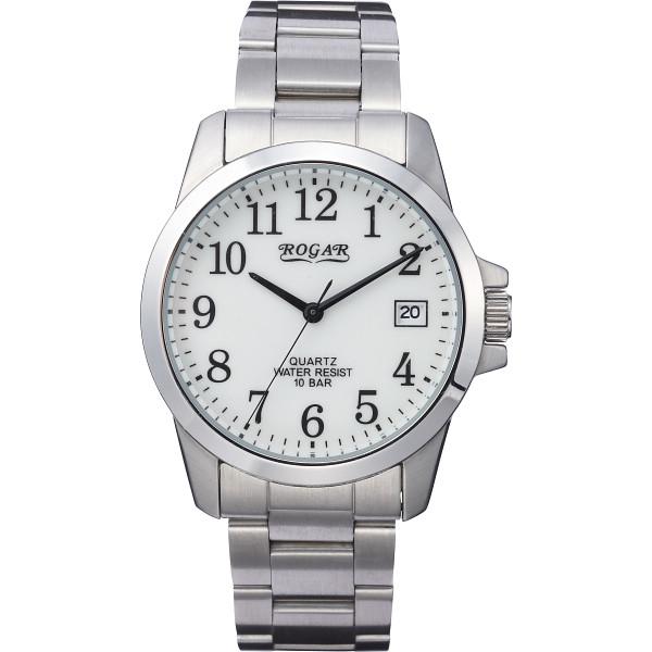 その他 ロガール メンズ腕時計 ホワイト文字盤 (包装・のし可) 4582161699621【納期目安:1週間】