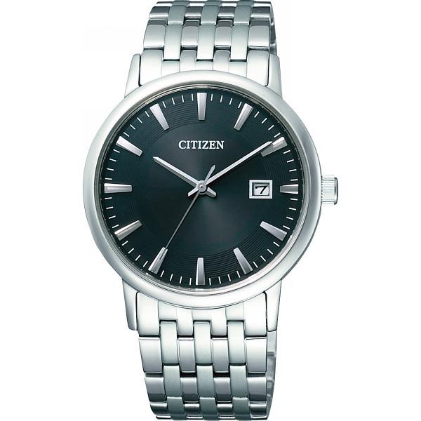 その他 シチズン メンズ腕時計 ブラック (包装・のし可) 4974375426566【納期目安:1週間】