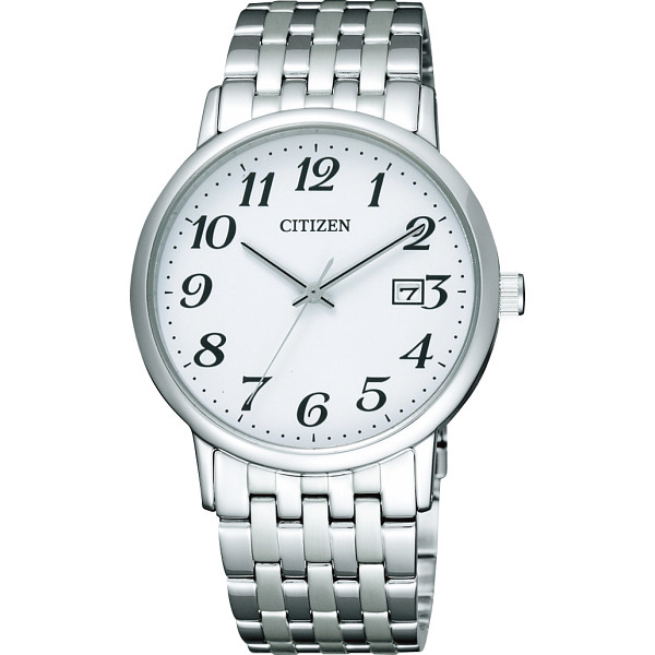 その他 シチズン メンズ腕時計 ホワイト (包装・のし可) 4974375427983【納期目安:1週間】