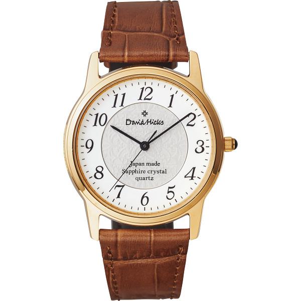 その他 デビッドヒックス メンズ腕時計 ブラウン (包装・のし可) 4560159971225【納期目安:1週間】