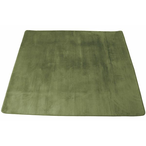 その他 マイクロファイバーラグ 185×240 グリーン (包装・のし可) 4582117038634