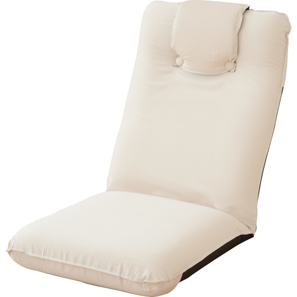 その他 低反発座椅子(ヘッドレスト付)2個組 アイボリー (包装・のし可) 4511412992440