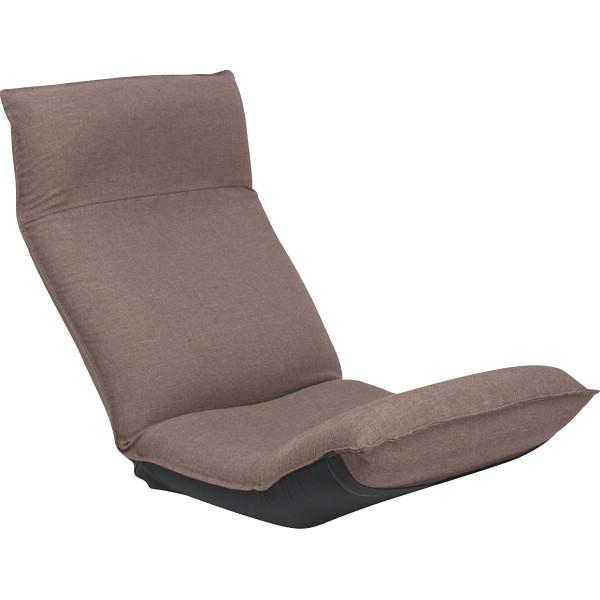 その他 産学連携 リラックス座椅子 ブラウン 4984522991373【納期目安:1週間】