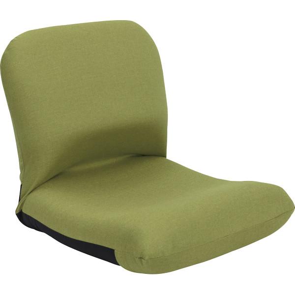 その他 背中を支える美姿勢座椅子 グリーン 4984522987796【納期目安:1週間】
