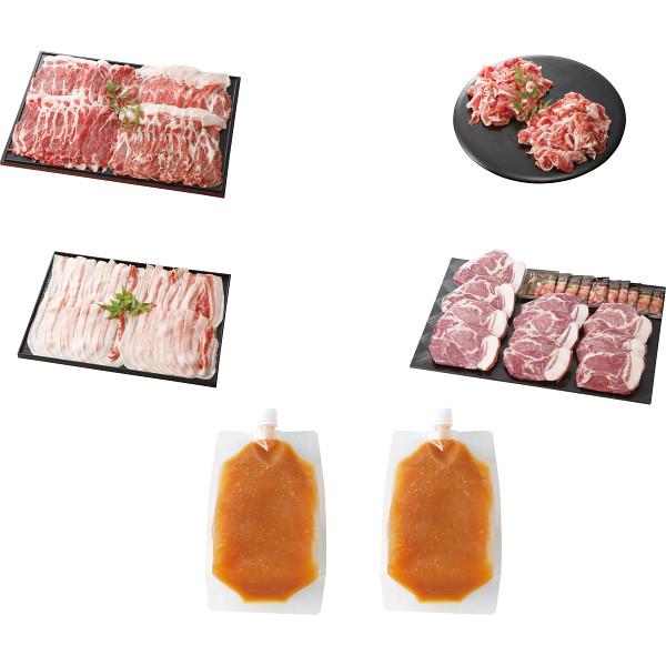 その他 「イブ美豚」(猪豚肉) しゃぶしゃぶ&ステーキ用セット 2460085000377【納期目安:1週間】