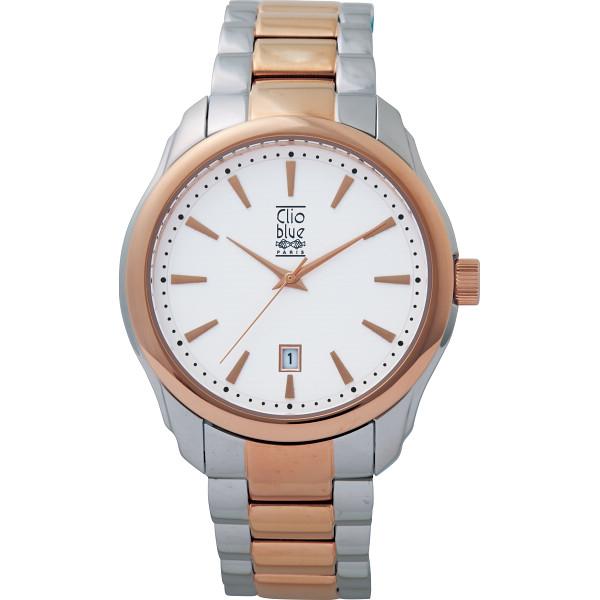 その他 クリオブルー メンズ腕時計(包装・のし可) 4582164652333【納期目安:1週間】