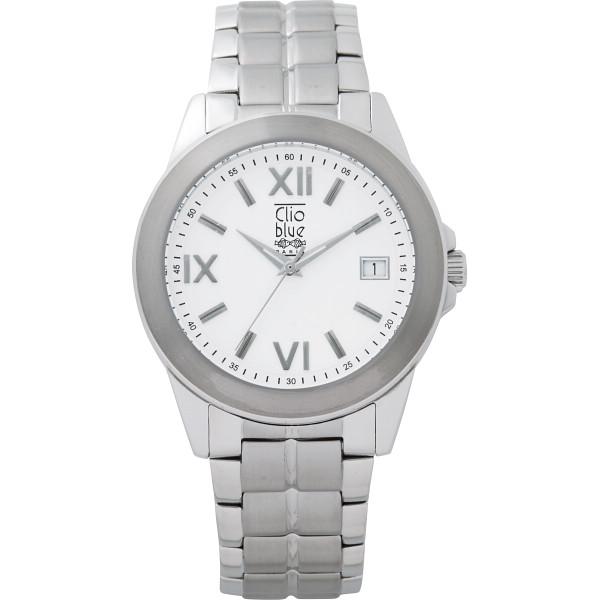 その他 クリオブルー 三つ折式メンズ腕時計(包装・のし可) 4582164652326【納期目安:1週間】